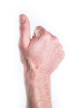 Hand Miming Thumb Up
