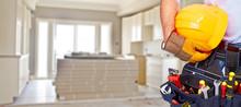 Builder Handyman With Construc...