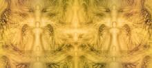 Angels Background Pattern