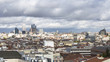 cloudy sky in Madrid