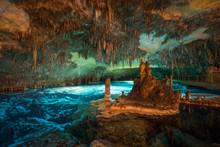 Dragon Caves On Majorca, Wide Angle