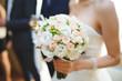 canvas print picture - Wedding Bouquet