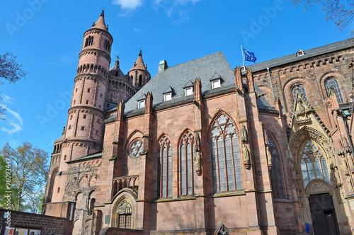 abbey in Mainz плакат
