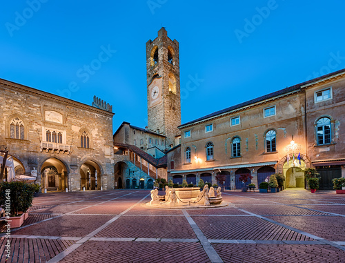 Fotografie, Obraz Piazza Vecchia