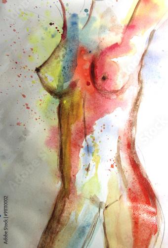 piekny-obraz-akwarela-ciala-kobiety
