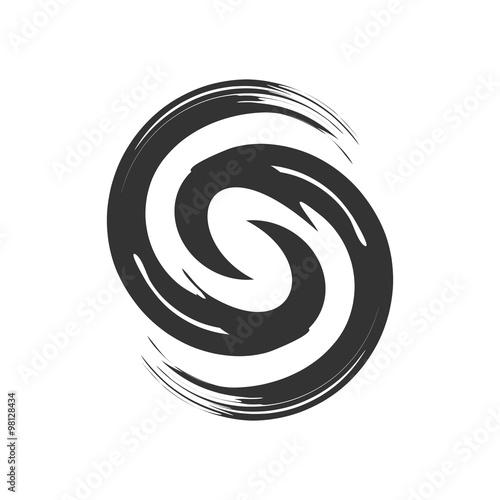 Cuadros en Lienzo Initial S Zen Refresh Symbol