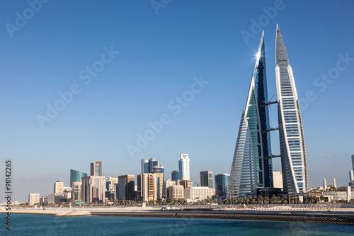 Staande foto Midden Oosten Bahrain World Trade Center
