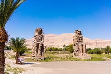 The Colossi Of Memnon, Luxor, Egypt