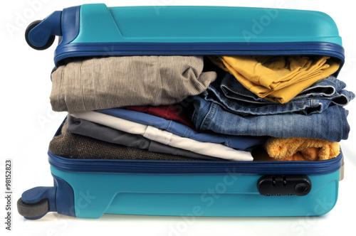 Canvas-taulu La valise trop chargée