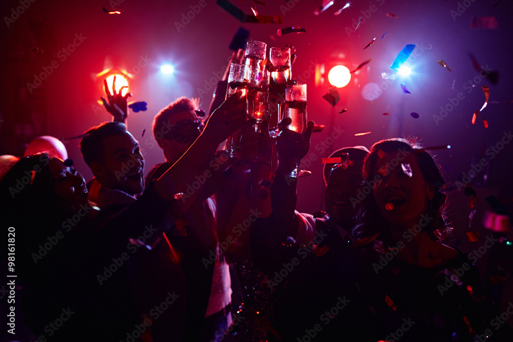 Fototapeta Night party