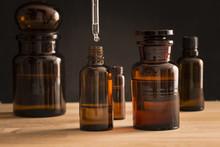 Old Fashioned Medicine Glass Bottles