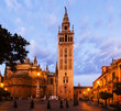 Giralda tower - bell tower of the Seville Cathedral