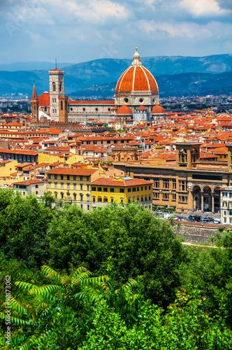 Aluminium Prints Florence Cathedral Santa Maria del Fiore, Florence
