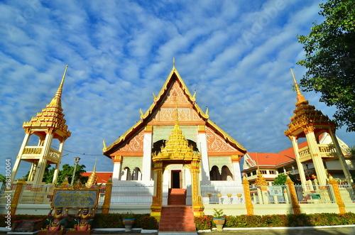 Wat Klang Ming Mueang at Roi Et, Thailand Poster