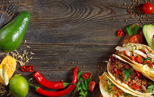 Mexican street food.