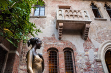 Statue Of Juliet, With Balcony...