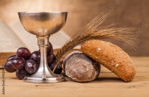 Fotografie, Obraz  holy communion composition