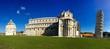 canvas print picture - Der schiefe Turm von Pisa