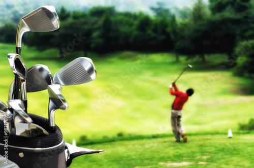 Plakat Najlepsza seria zdjęć do gry w golfa