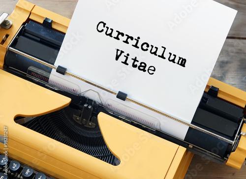 Fotografie, Obraz Curriculum Vitae