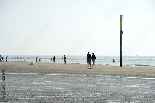 Spoed Foto op Canvas Noordzee St. Peter-Ording - Nordsee