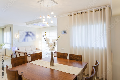 Fotografering  Dining Room