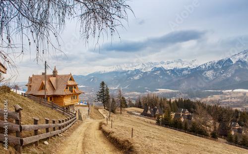 Mountain ski village, Zakopane, Poland
