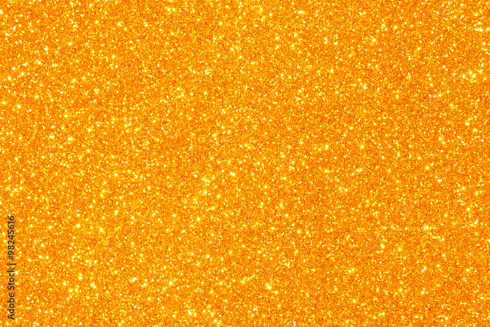 Fototapeta orange glitter texture background