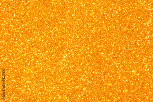 orange glitter texture background - fototapety na wymiar