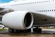 Large passenger jet