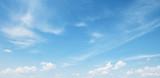Fototapeta Na sufit - white cloud on blue sky