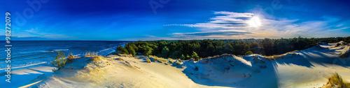 Poster Panoramafoto s Panorama pejzaż morski