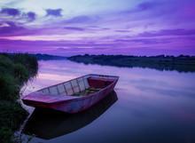 Romantic Time On Lake