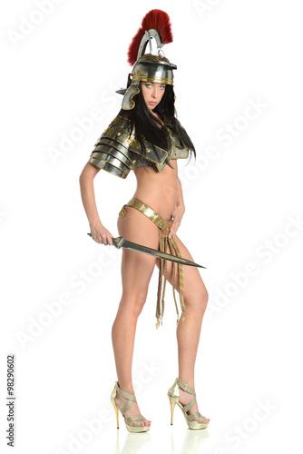 Photo  Young Amazon warrior