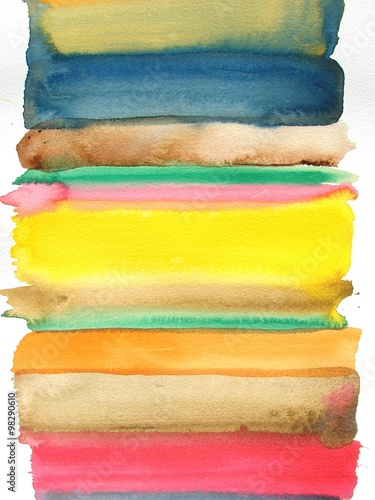 Photo  abstract watercolor background design