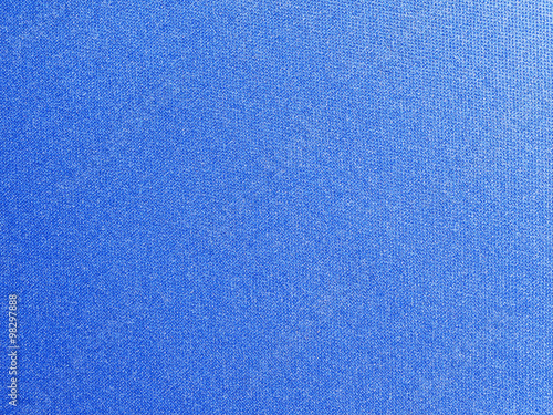 Valokuva  blue canvas texture background