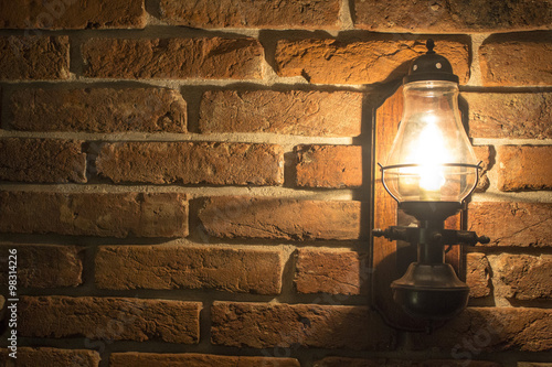 Fototapeta premium Stara lampa