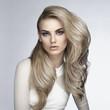 Leinwanddruck Bild - Sexy blonde