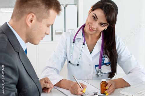 Valokuva  Antidepressant or man sexual potency cure
