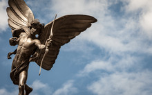Statue Of Eros, Piccadilly Cir...