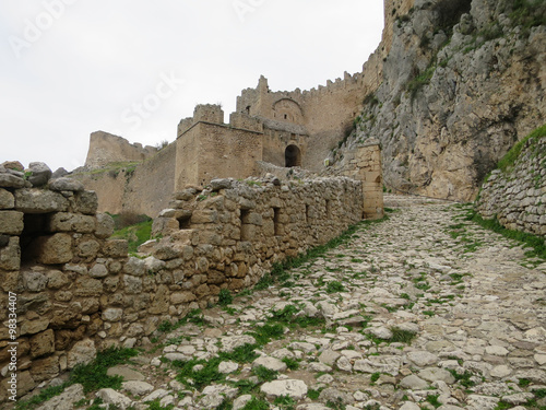 Valokuva  Castle in Ancient Corinth