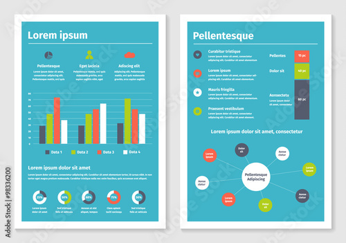 Modern Business Infographic Brochure Template 2 Buy This Stock