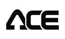Letter ACE Modern Logo
