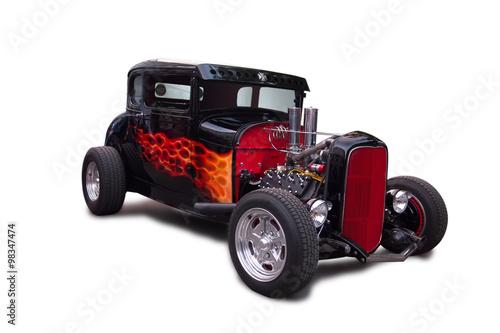 Cadres-photo bureau Vintage voitures Hotrod