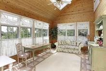 Sunroom With Skylight