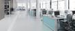 Bürofläche mit Einrichtung (panoramisch)