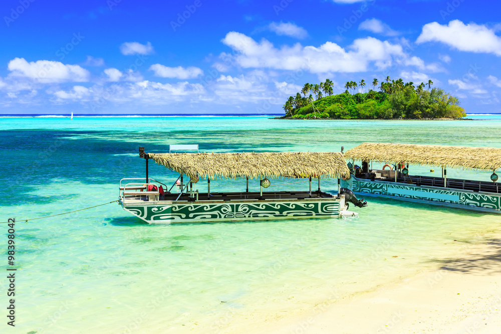 Fototapety, obrazy: Rarotonga, Cook Islands.
