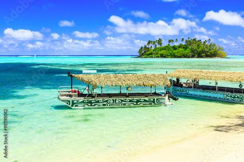 Fotografie, Obraz  Rarotonga, Cook Islands.