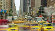 New York City Streets Time lapse shot of New York City streets.