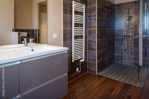 Valokuvatapetti Salle de bain